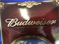Budweiser Limited Edition Bottle w/Glasses
