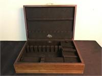 Vintage Miller's Eureka Flatware Storage Box