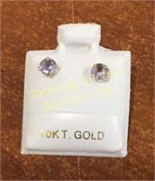 Earrings Tourmaline (4mm) & Fresh Water Pearls...