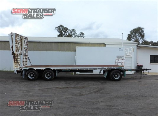 2004 Haulmark Plant Trailer With Ramps Semi Trailer Sales - Trailers for Sale