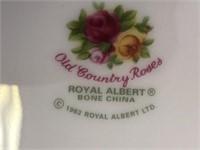 "Royal Albert ""Old Country Roses"" Bone China Set"