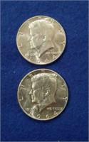 1964 Kennedy Halves