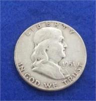 1951 Franklin Half