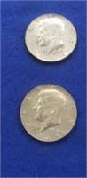 1965 Kennedy Halves