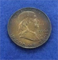 1950 Franklin Half