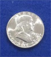 1955 Franklin Half