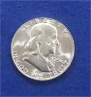 1956 Franklin Half