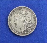 1881 Morgan Dollar