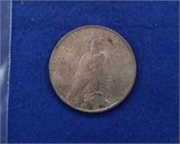 1923 Peace Dollar