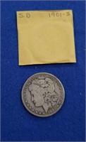 1901 Morgan Dollar