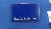 1968 Blue Box Proof Set