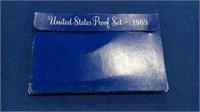 1969 Blue Box Proof Set