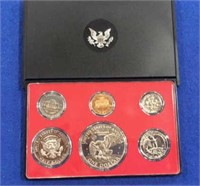 1974 Black Box Proof Set
