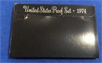 1974 Black Box Proof Set