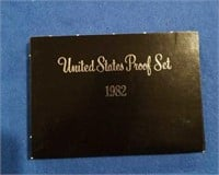 1982 Black Box Proof Set