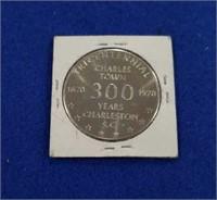 1670-1970 Charleston 300 Year Token