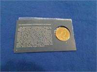 1972 Bicentennial Commemorative Medal