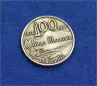 1974 Kings Mountain Centennial Medal
