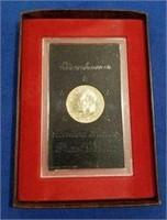1974 Eisenhower Brown Box Proof Dollar