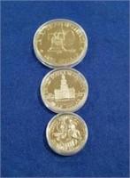 1976 Us Bicentennial Three Piece Proof Set