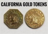 California Gold Tokens