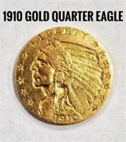 1910 Quarter Eagle