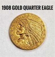 1908 Quarter Eagle