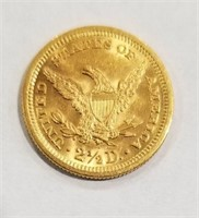 1879 Quarter Eagle