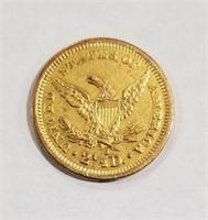 1877-s Quarter Eagle