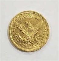 1853 Quarter Eagle