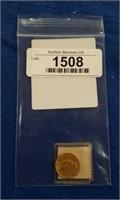 1874 Three Dollar Gold Piece