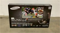 "*NEW* 48"" Samsung Smart Signage TV-"