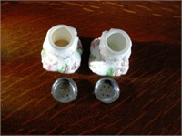 Westmoreland milk Glass Salt & Pepper Shakers