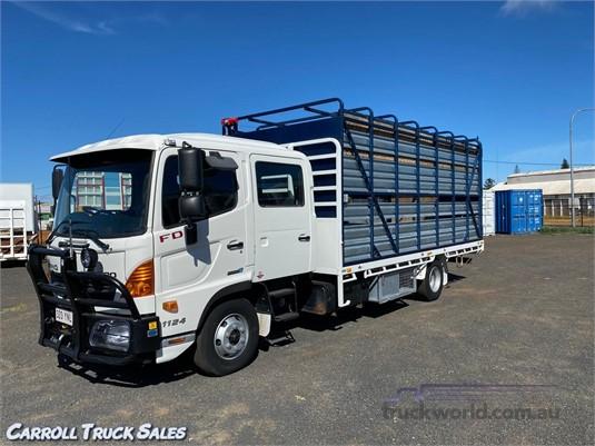 2015 Hino 500 Series 1124 FD Carroll Truck Sales Queensland - Trucks for Sale