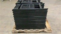 (qty - 12) Folding Event Resin Chairs(12x the bid)