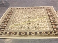 Rugs: 1 is 76 x 96, Tiffany Collection 84 x 61