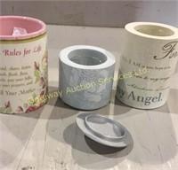 Mother Items: Tea Light Candle Holder, Coffee Mug