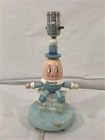 Humpty Dumpty wooden lamp & more