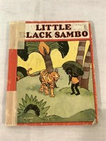 Little Black Sambo book, vintage 1927