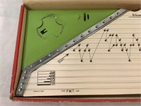 Zippy Zither vintage wooden instrument