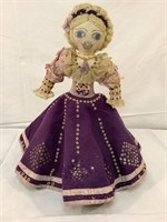 Hand-crafted unique doll