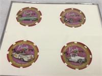 Barris Kustoms Hard Rock Collectors chips