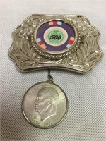 Casino Vintage Belt Buckle & More