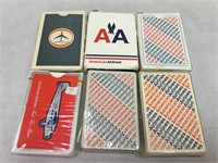 American Airlines decks of cards