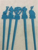 TWA vintage Around The World swizzle sticks