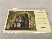 TWA vintage post cards