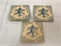 Seta of foreign skiing pins