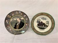 Staffordshire & Royal Dalton plates