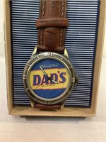 Dad's Old Fashioned Rootbeer  watch, w/ leather