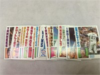Topps Baseball Cards 1984 Nestle